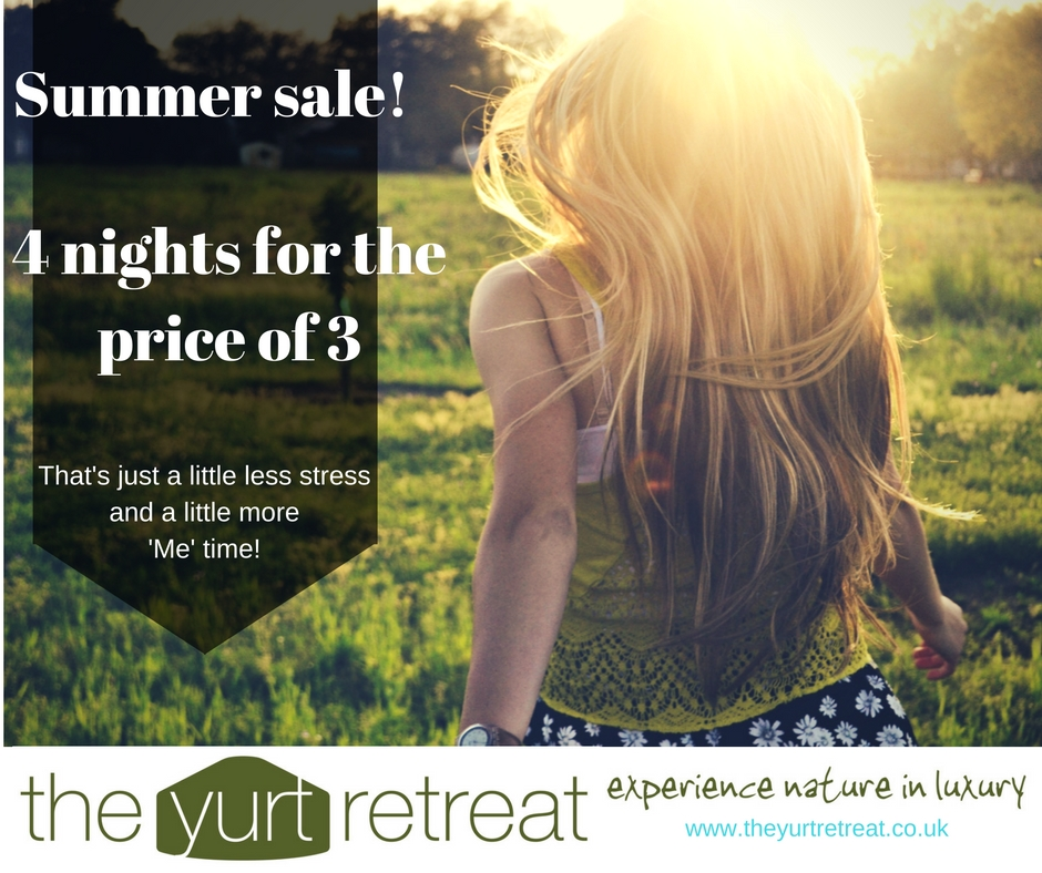 sale, holiday, the yurt retreat