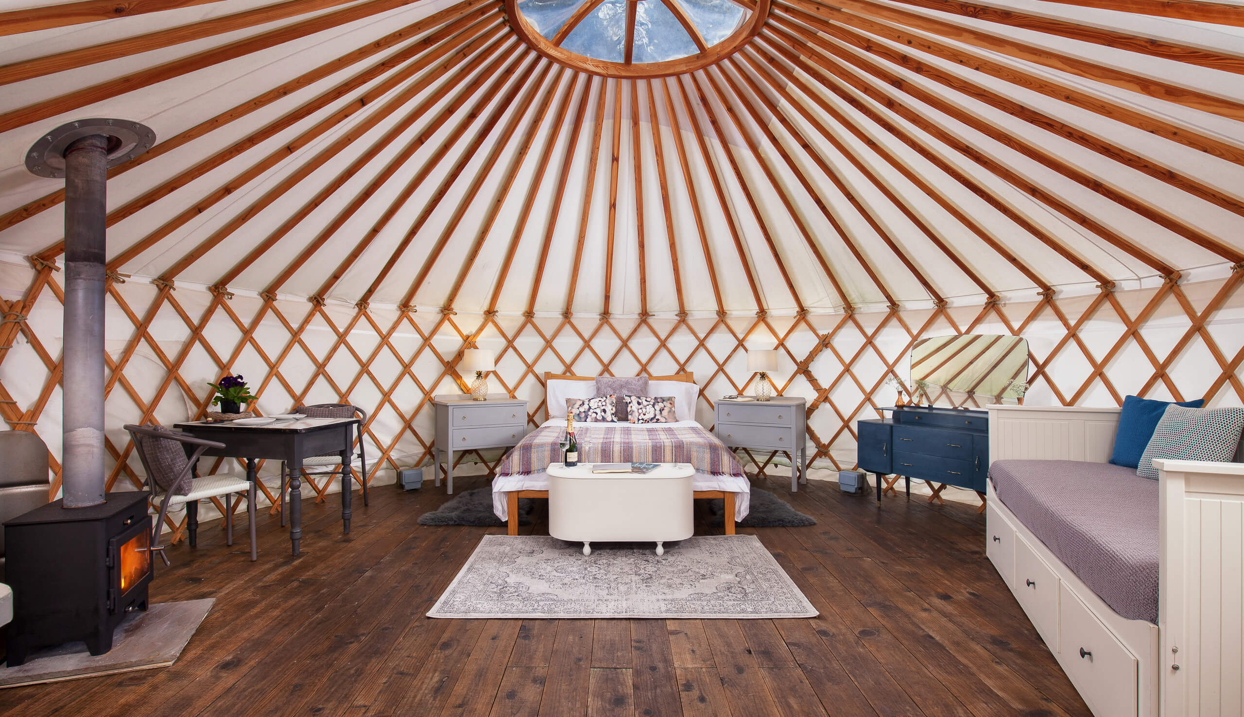 Cedar Yurt The Retreat