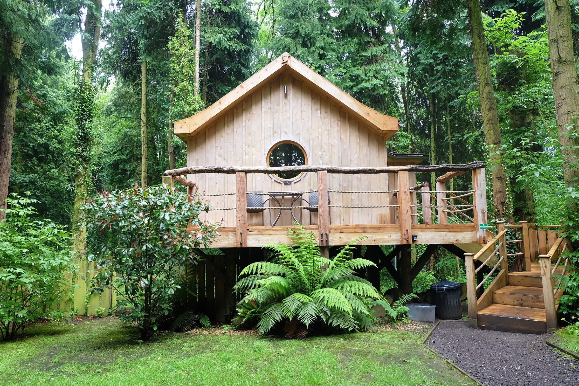 Treehouse, Glamping, Birdhouse, Holiday